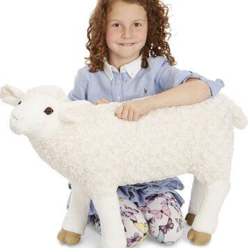 Lifelike Plush Sheep