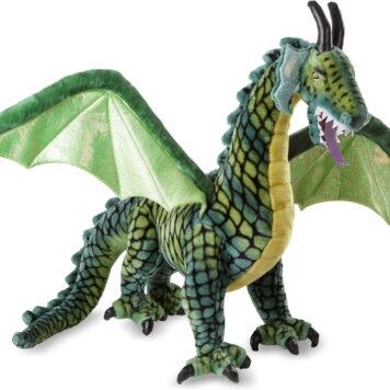 Winged Dragon Giant Stuffed Animal