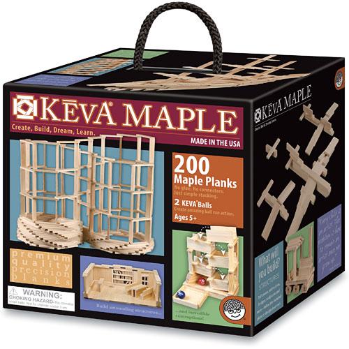 KEVA Maple: 200 Plank Set