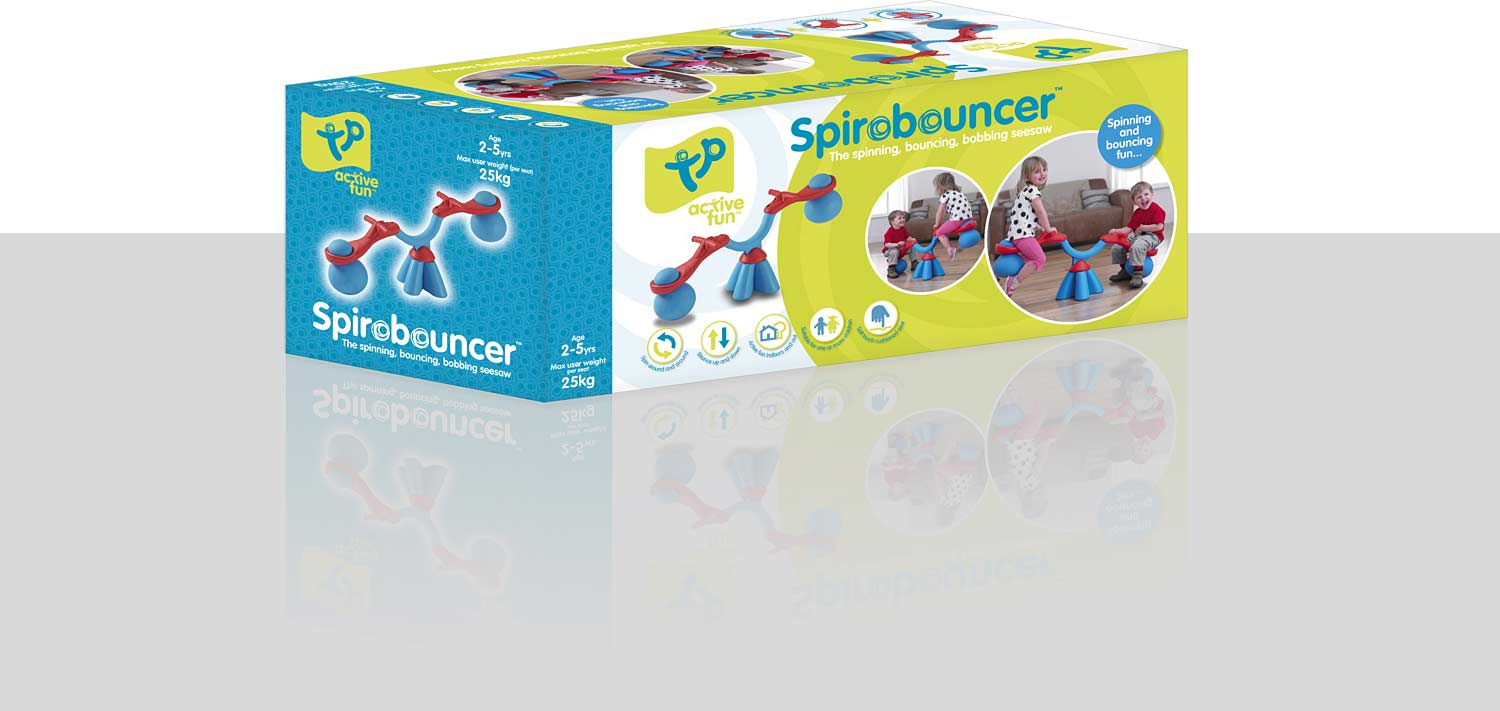 TP Toys Spiro Bouncer - blue/red