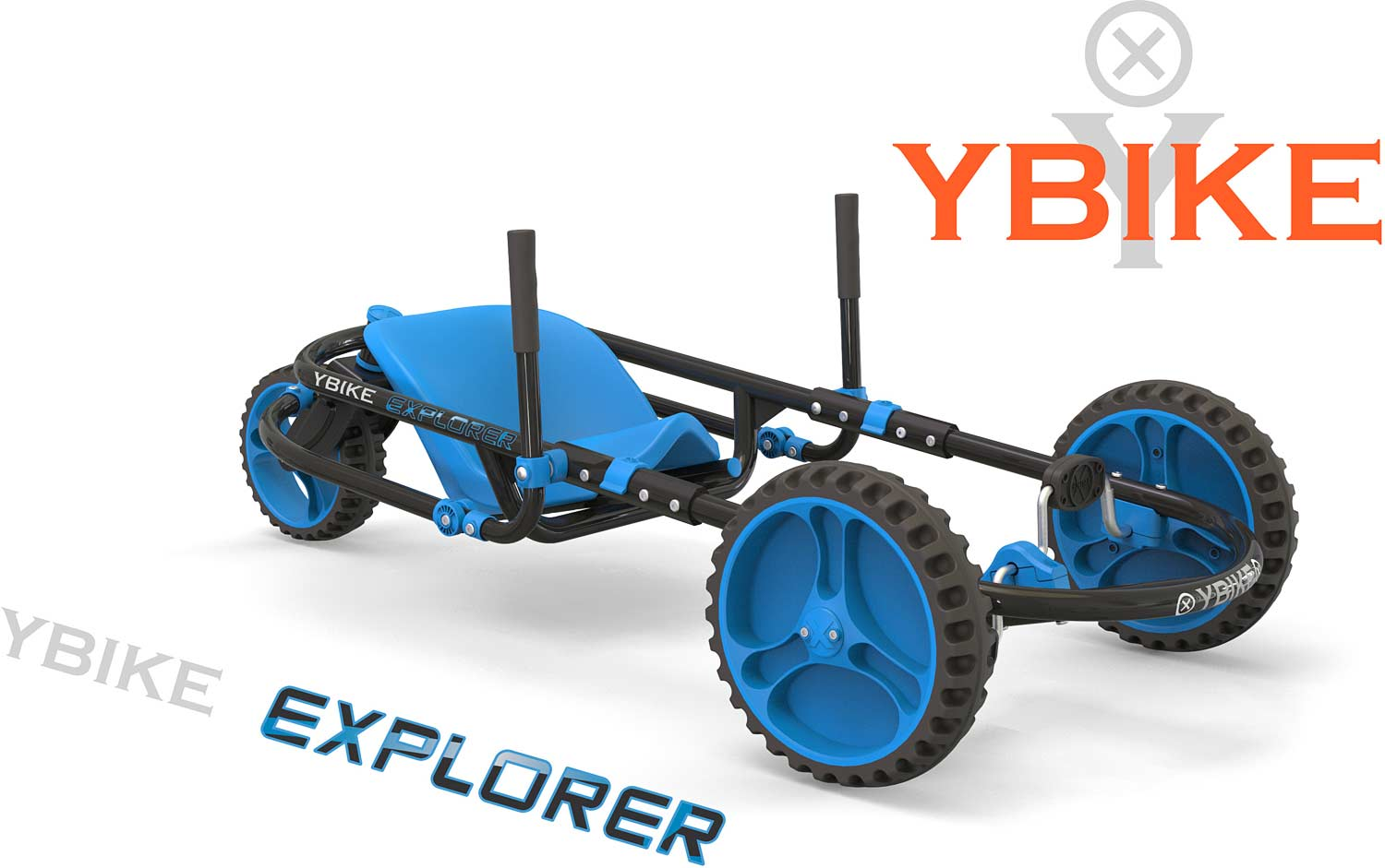 YBIKE Explorer 3.0 - Blue/Black