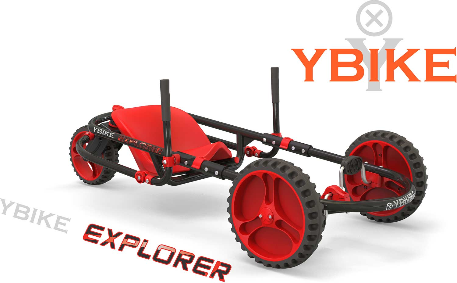 YBIKE Explorer 3.0 - Red/Black