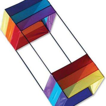 36 in. Box Kite - Rainbow