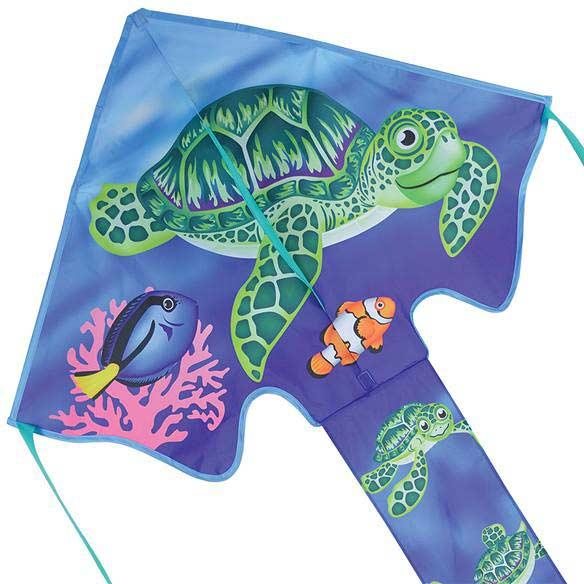 Large Easy Flyer Kite - Sea Turtles