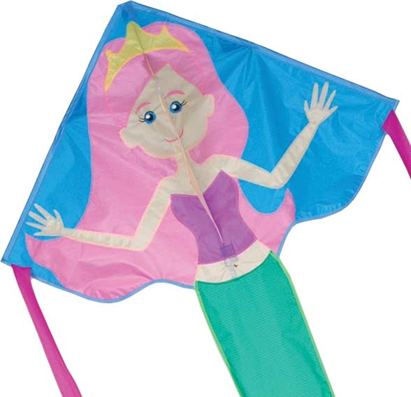 Regular Easy Flyer Kite - Serena Mermaid