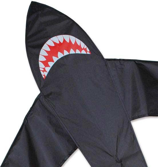 7 ft. Shark Kite - Black