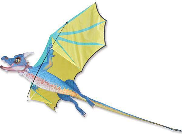 3D Dragon Kite - Stormcloud