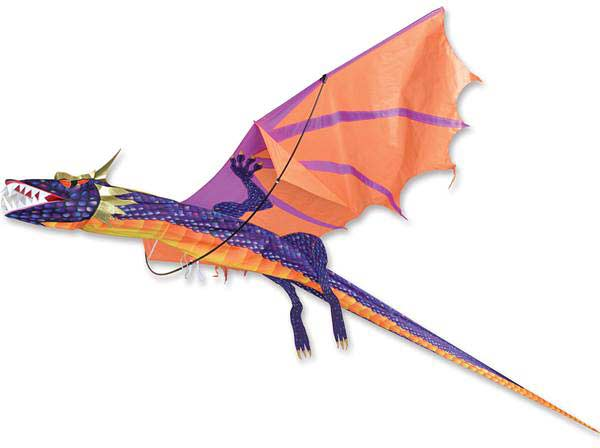 3D Dragon Kite - Sunset
