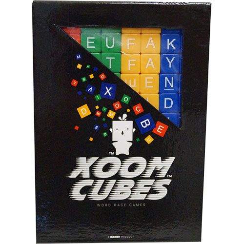 Xoom Cubes- Green, Yellow, Blue, Red