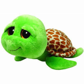 Ty Beanie Boos Buddies Zippy Green Turtle Large Plush