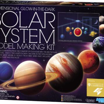 3D Glow Solar Syst Model Kit