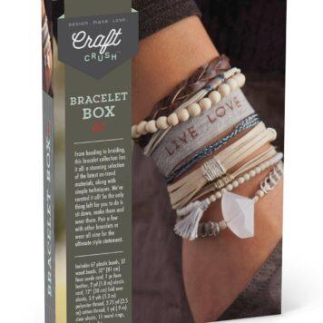 Craft Crush Bracelet Box - Neutrals