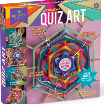 All About Me Quiz Art