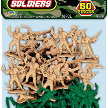 ARMY COMMAND SOLDIER 50PC