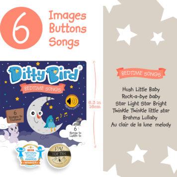 Ditty Bird Baby Sound Book: Bedtime Songs