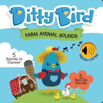Ditty Bird Baby Sound Book: Farm Animal Sounds