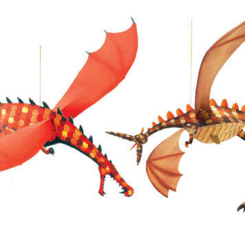 Airy Mobiles Merciless Dragons