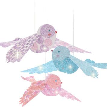 Airy Mobiles Glitter Birds