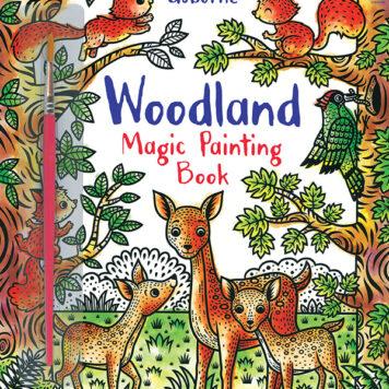 Magic Painting Book, Woodland