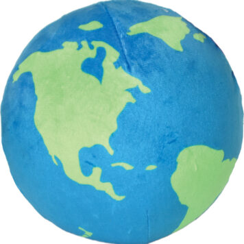 Planet Earth Slow Rise Pillow