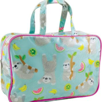 Sloth Large Cosmetic Bag