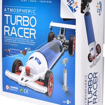 PlaySTEAM Atmospheric Turbo Racecar Air Pressure Learning Kit