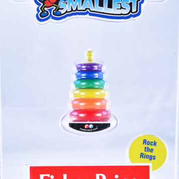 Worlds Smallest Fisher Price Classic Rock -A- Stack
