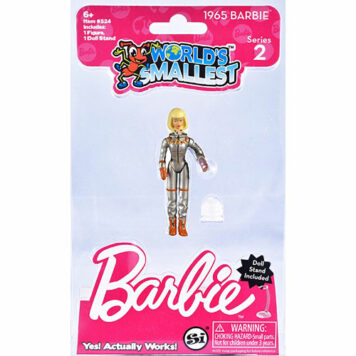 Worlds Smallest Barbie Series 2 Totally Hair & Astronaut