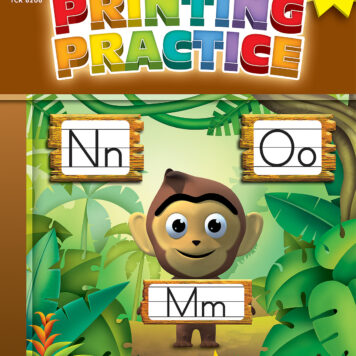 Practice To Learn: Printing Practice (Gr. K - 1)