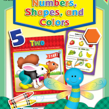 Write-On/Wipe-Off: Numbers, Shapes, And Colors