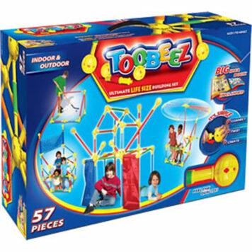 Toobeez 57 Piece Playhouse Building Kit