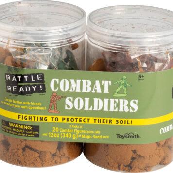 BATTLE READY COMBAT SOLDIERS