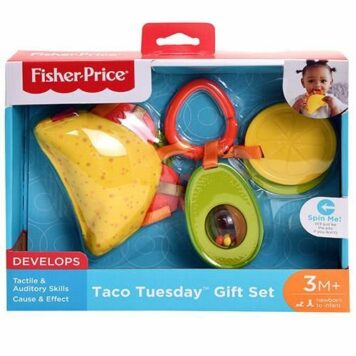 Fisher Price DP Taco Tuesday Gift Set in open box