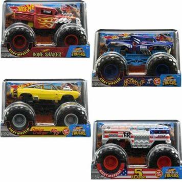 Mattel DP Hot Wheels Monster Truck 1:24 Assort