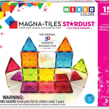 Magna-Tiles Stardust 15 Piece Set